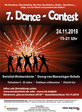 Plakat Dance Contest 2018 k